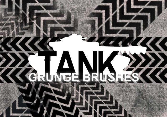 Tankpatroon Grunge Borstels