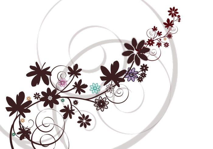 Flowersn'swirls