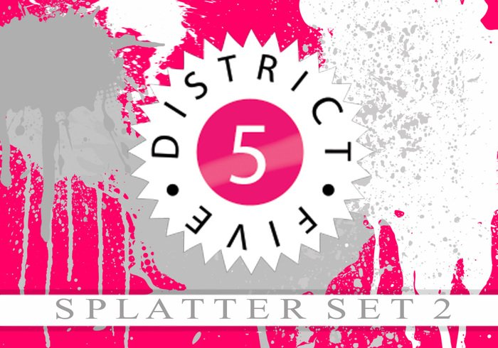 District5media splatter set 2