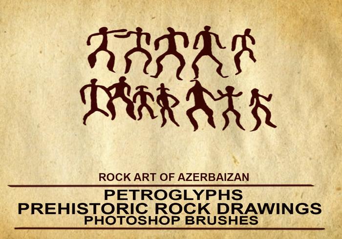 Pinceles de Photoshop por Numizmat Pinceles de Prehistoria de Azerbaiyán