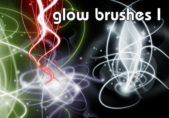 Glow Brushes Part I - Free Photoshop Brushes at Brusheezy!