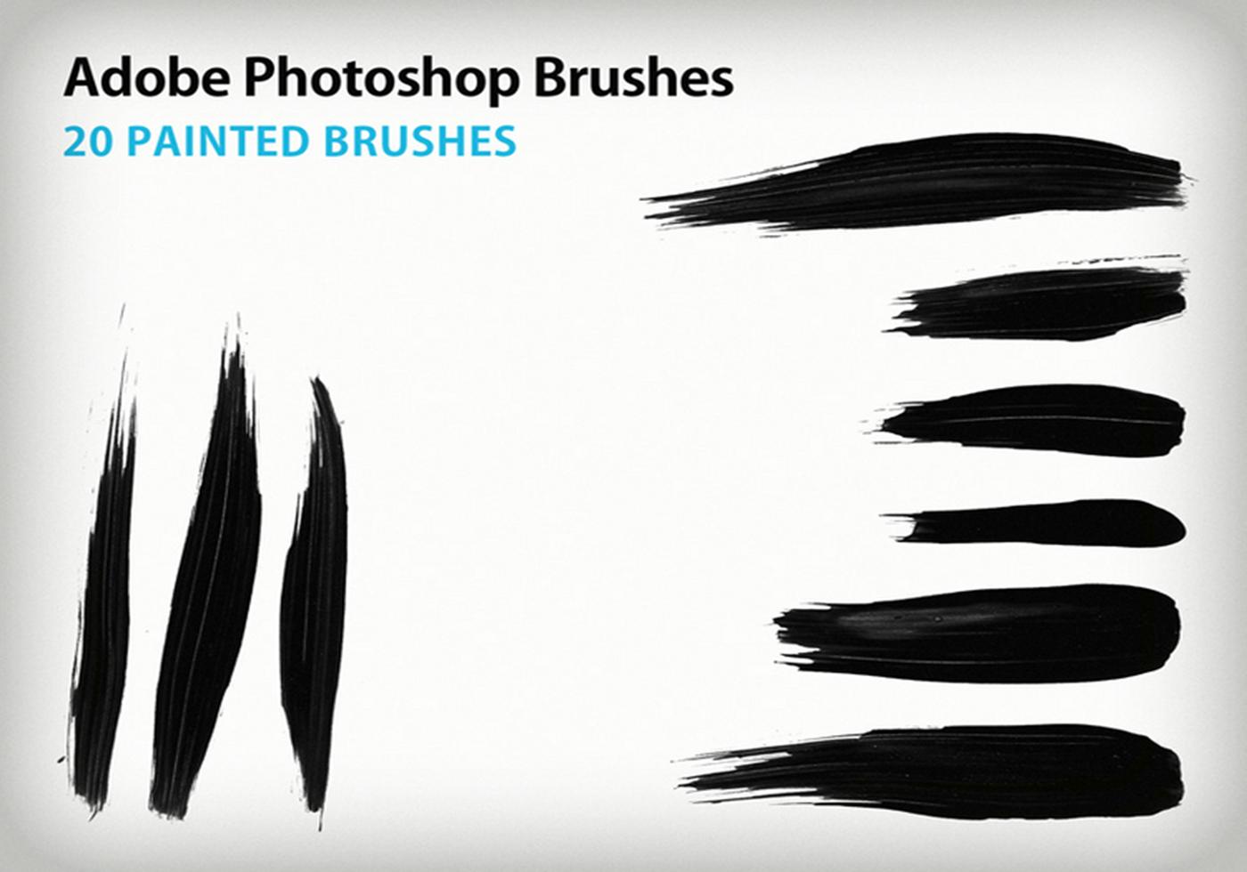 Free Brush Smudge Painting