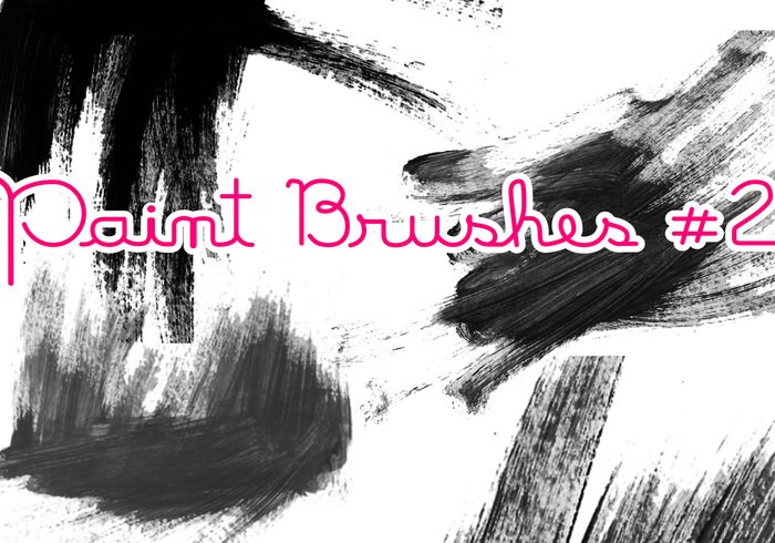 Paint Brushes #2 - Free Photoshop Brushes at Brusheezy!