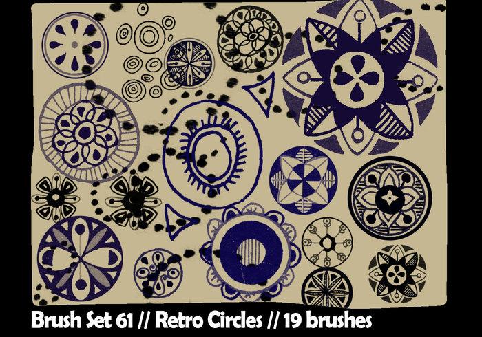 Retro cirkels