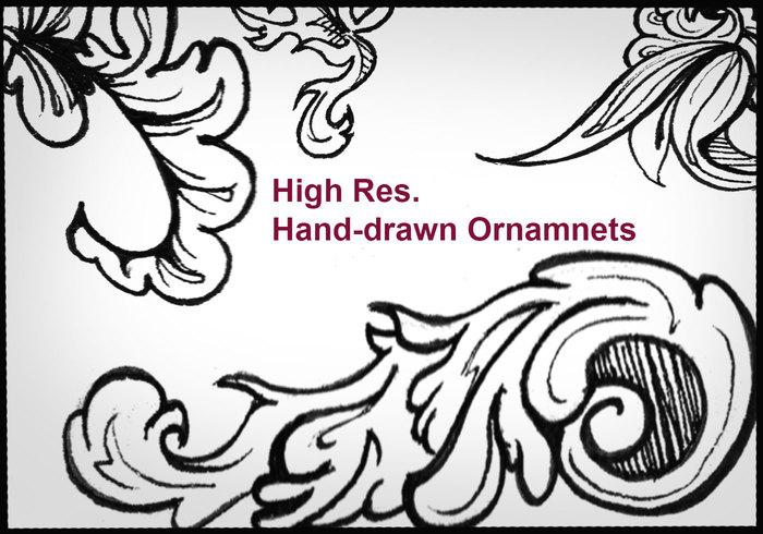 Highres handgjorda ornament 2