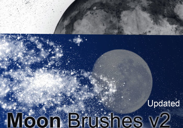 Moon, Stars, Sky Dust och More