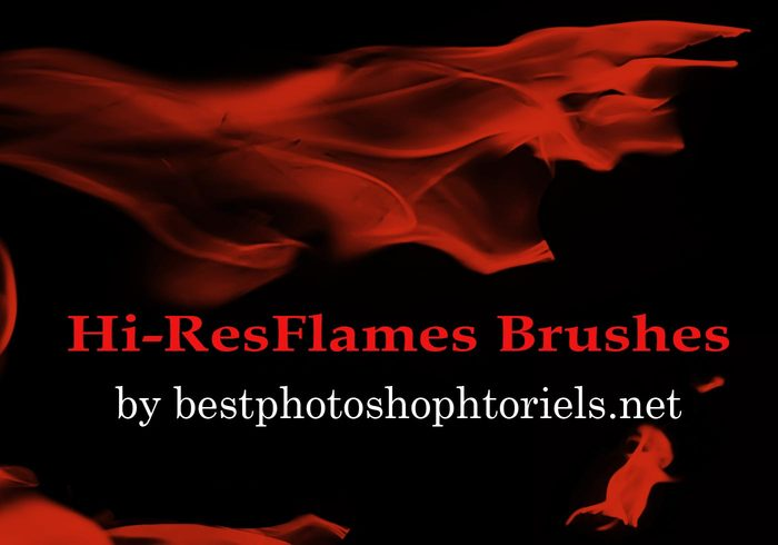Brosses de flamme Hi-Res