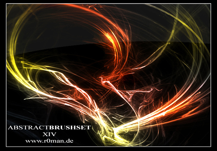 Abstract Brushset XIV