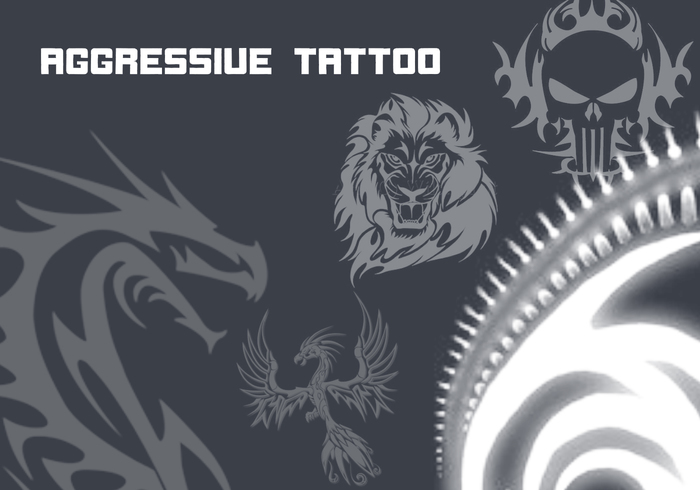 Agressieve tattoo