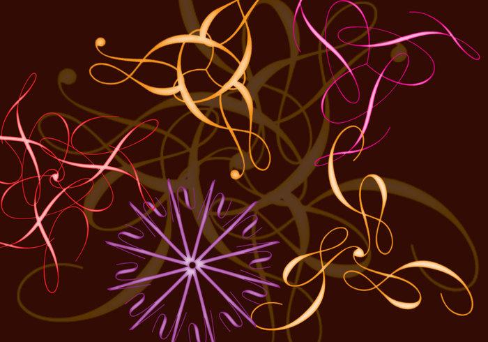 Anigrafiska blommor 2