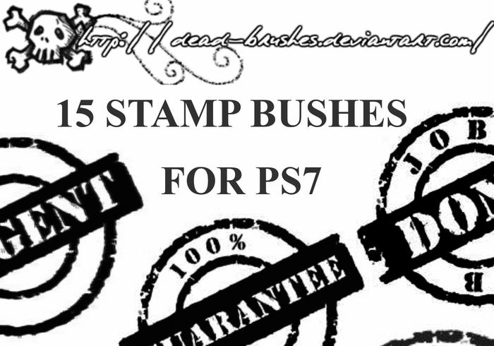 Pinceles de sellos