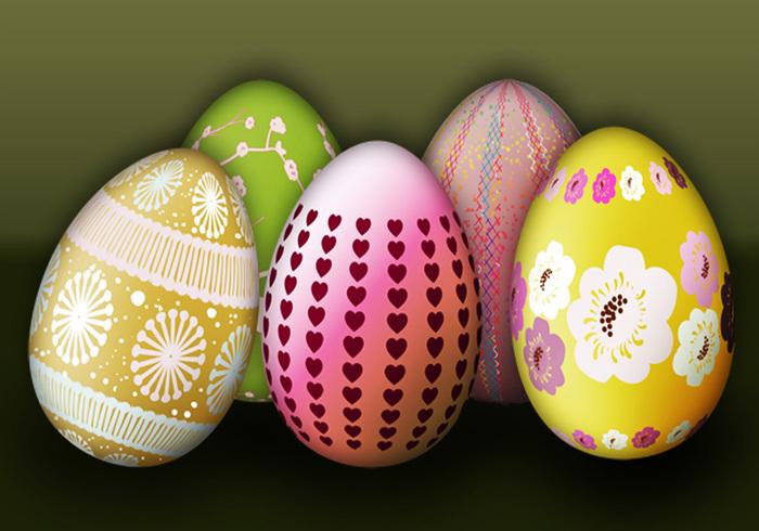Easter Egg Brushes