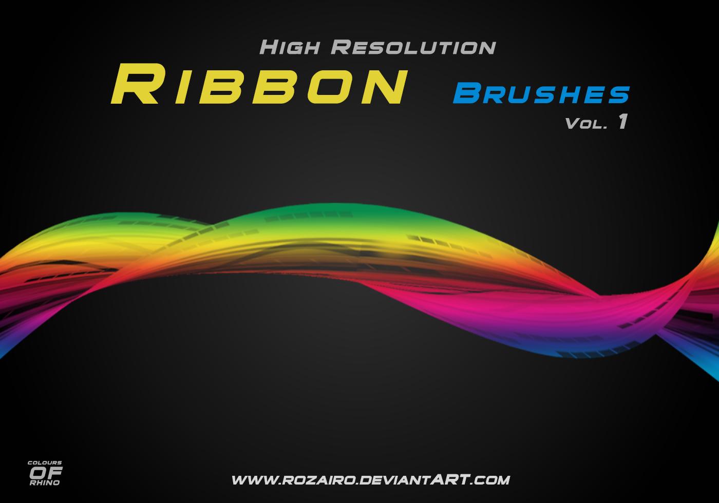 Ribbon-brushes