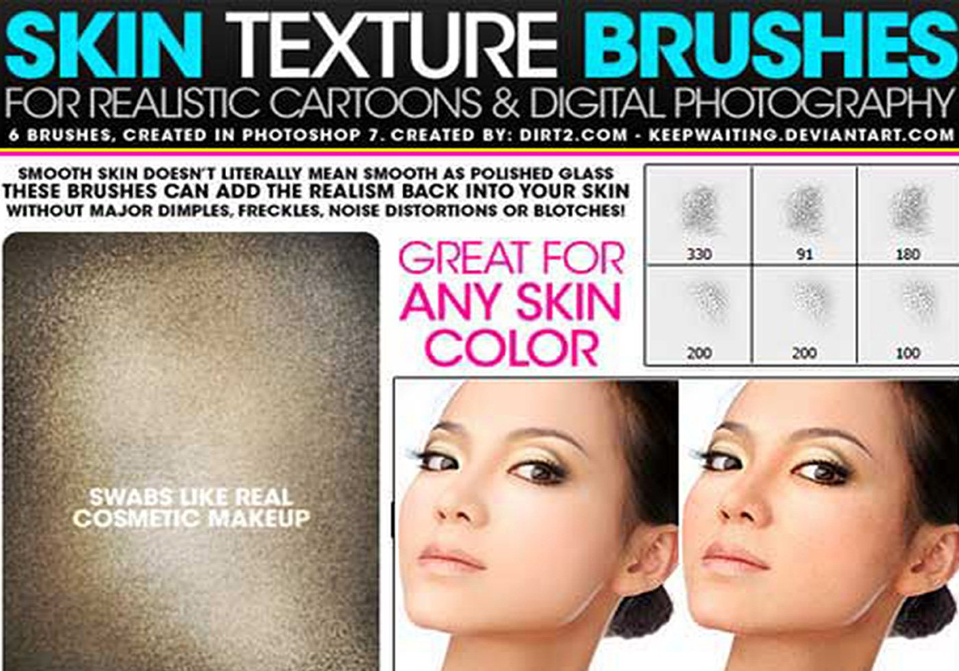 Mapping A Texture To A Face With Photoshop