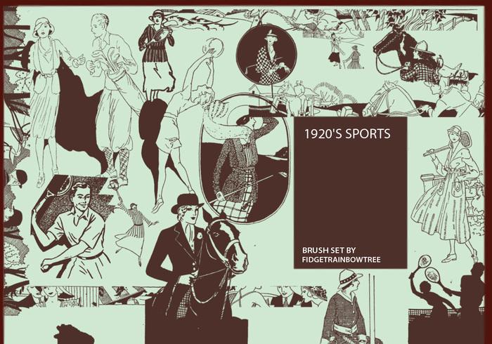 1920's Sport Brushes