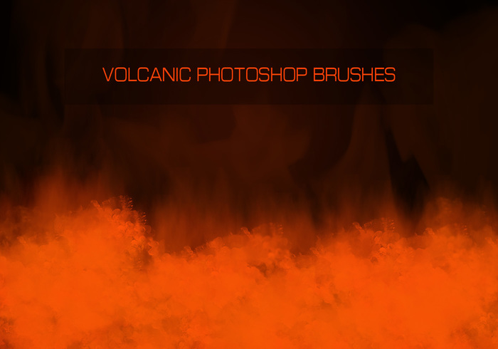 Volcanic Photoshop Brushes - Set 1