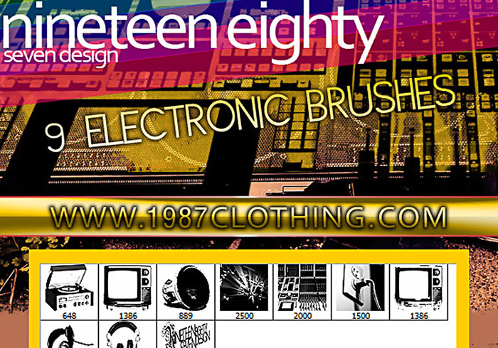 Electronic Brush Set