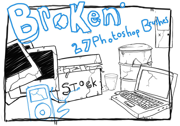 Broken Brushes