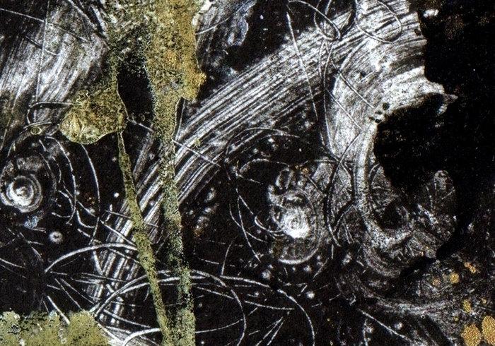 Abstrakte grunge gemalt texturen