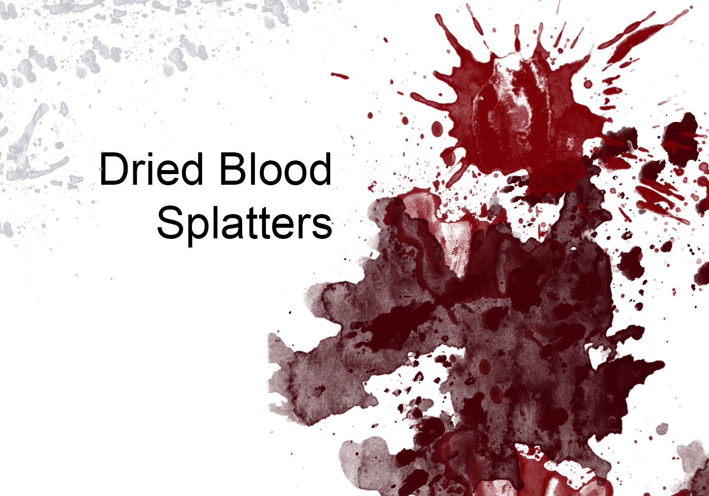 Dried Blood Splatters - Free Photoshop Brushes at Brusheezy!