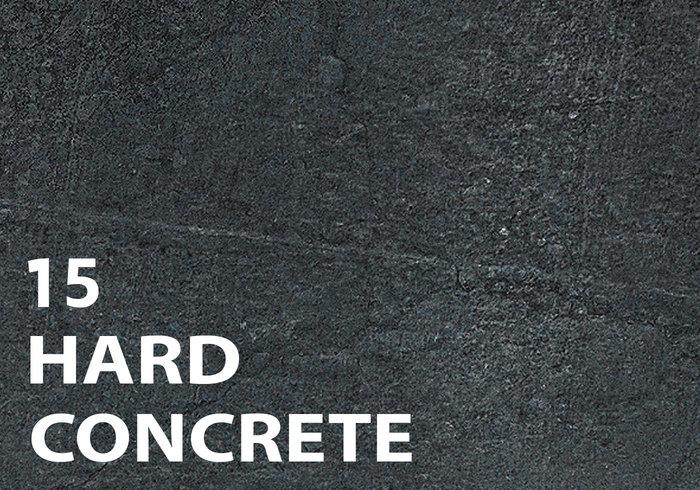 15 harde betonnen textuurborstels