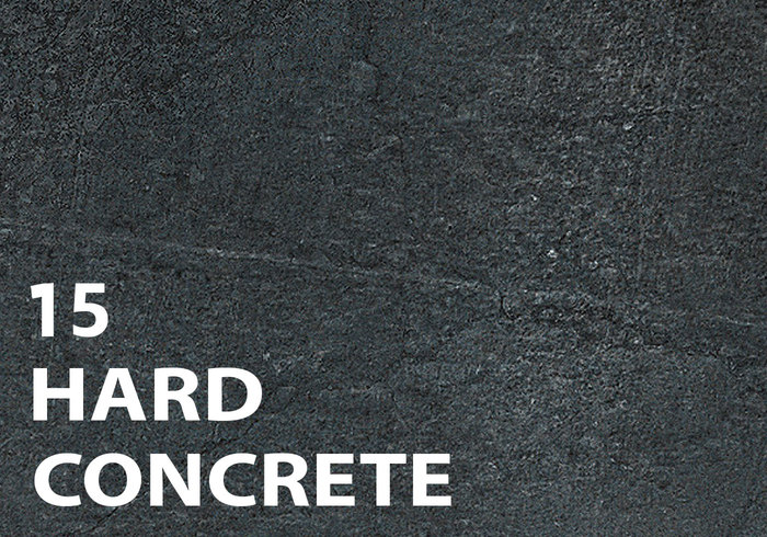 15 hårda betongborstar