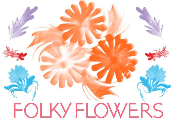 Folky blommor