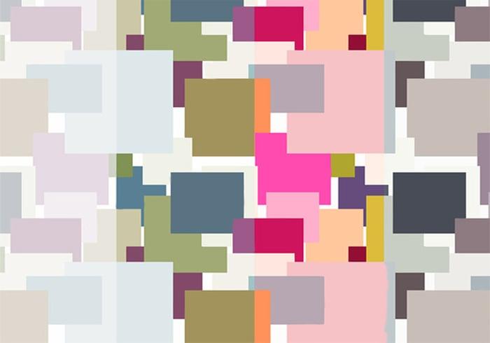 Einfache Rechtecke Muster