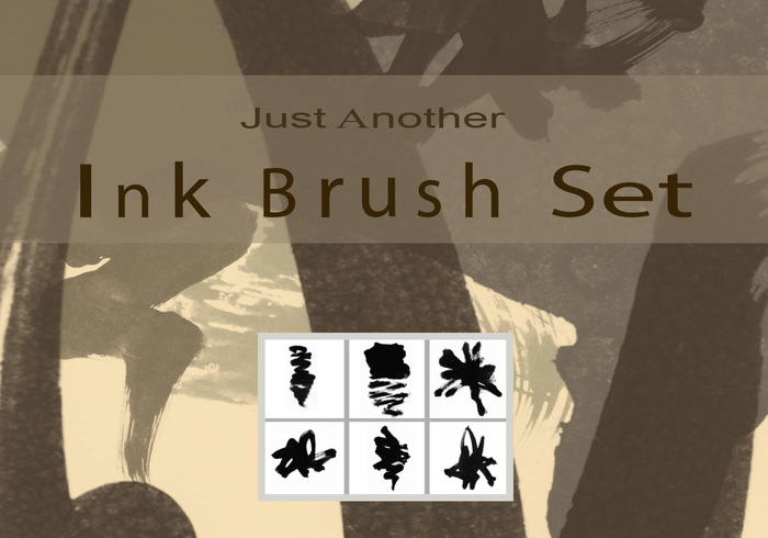 just another ink brush set