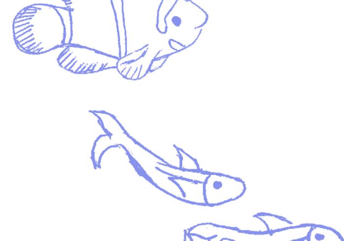 Bita mig, fisk