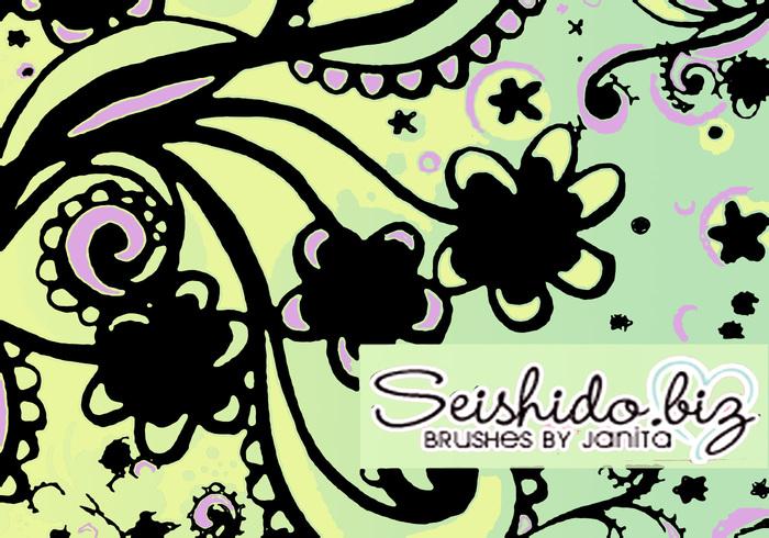 FREE Seishido.biz Doodle Brushes