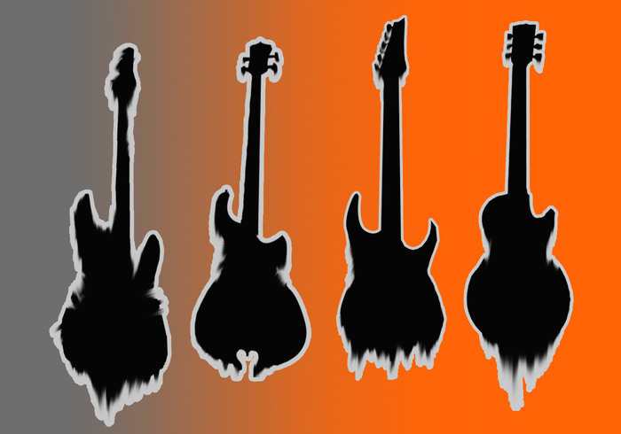 Deathly Guitar Shadows