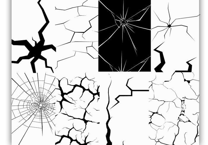 Cracks Brushes Pack