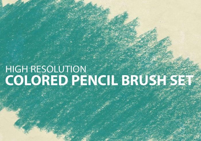 Colored Pencil Brush Set - Free Photoshop Brushes at Brusheezy!
