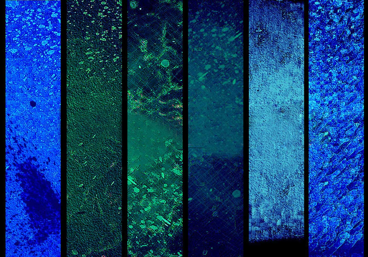 Textures from Untamed Reflections - III - blue - Free ...