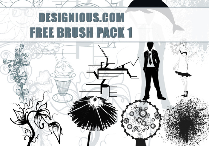 Free Photoshop brushes pack