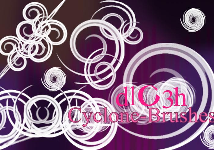 Cyclone-Brushes
