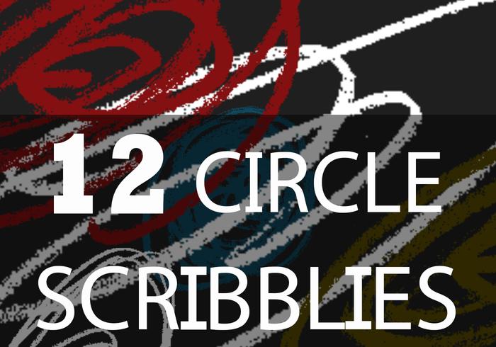 Scribbles et Swirls de cercle