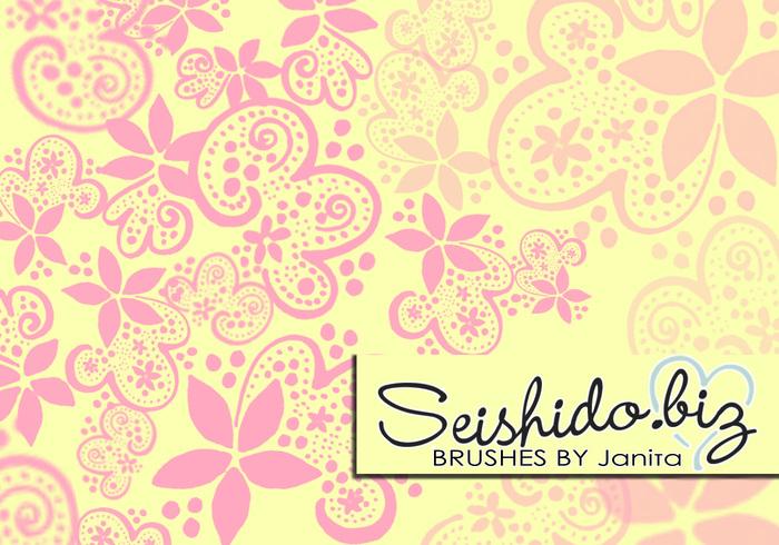 FREE Seishido.biz Bubbly Doodle Brushes