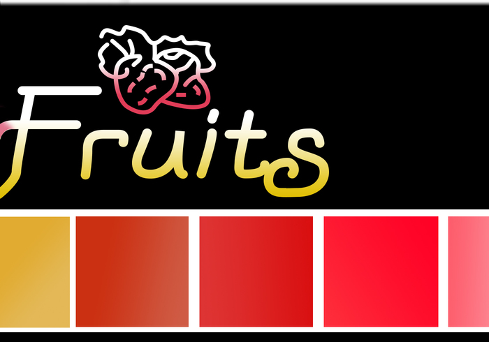 Summer Fruits Gradients