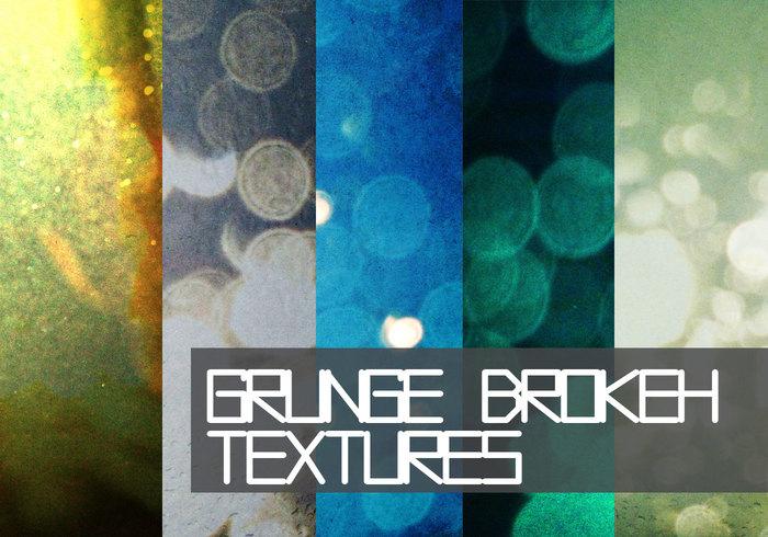 Grungy Bokeh Textures