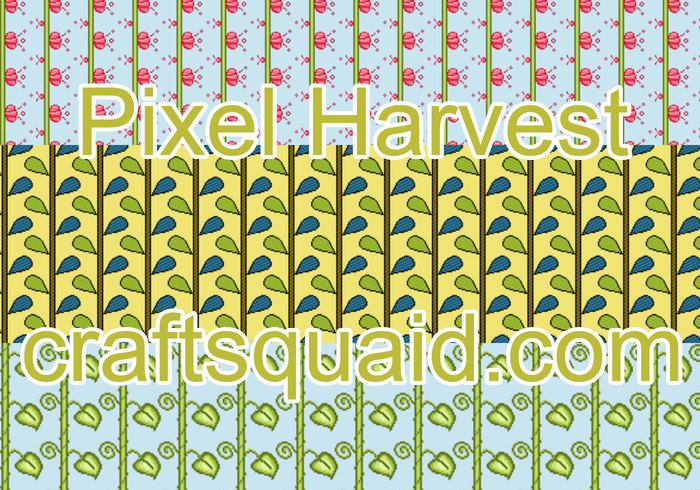 Pixel Harvest Photoshop Patterns
