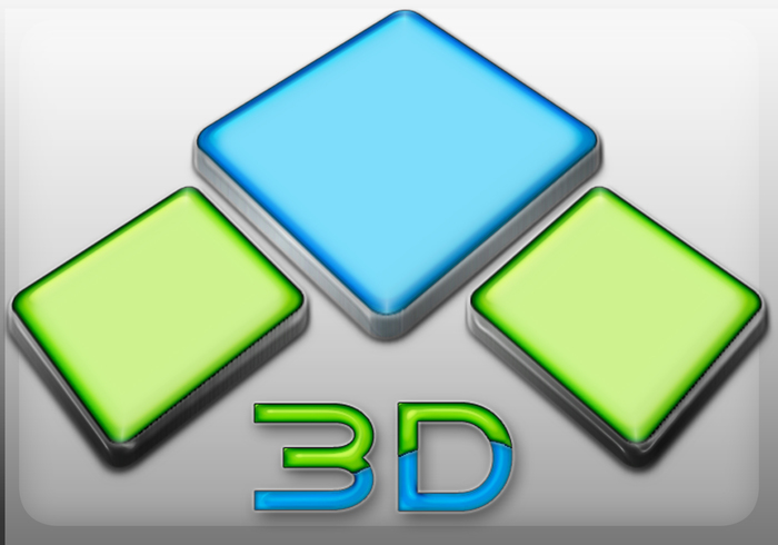 3D-logotyp
