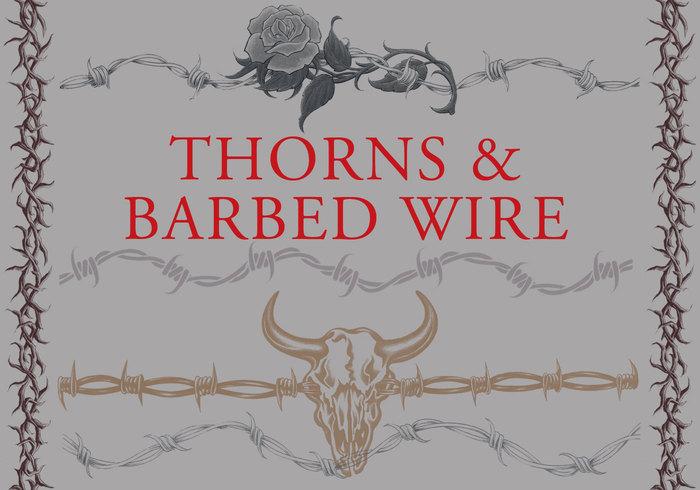 Tornar och taggtråd