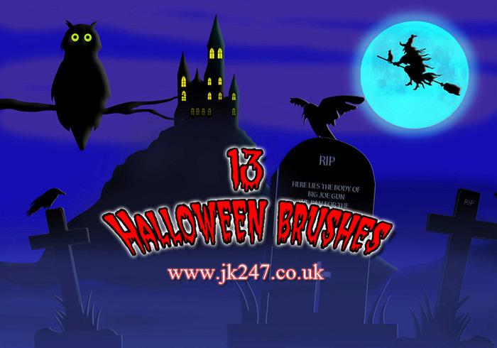 Halloween borstel set
