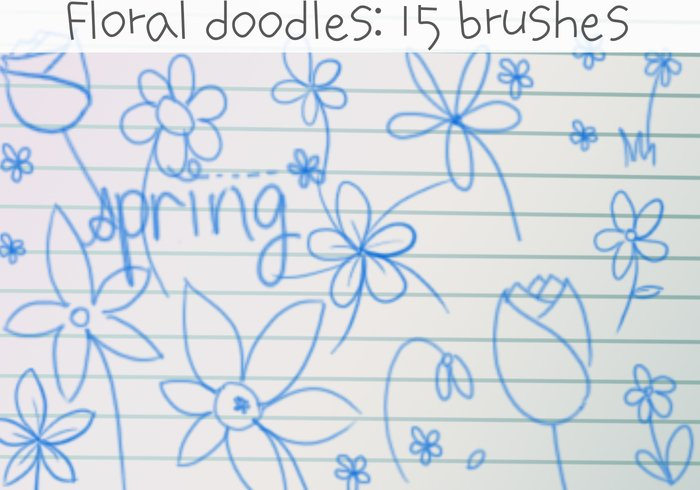 Flower Doodles Brushes