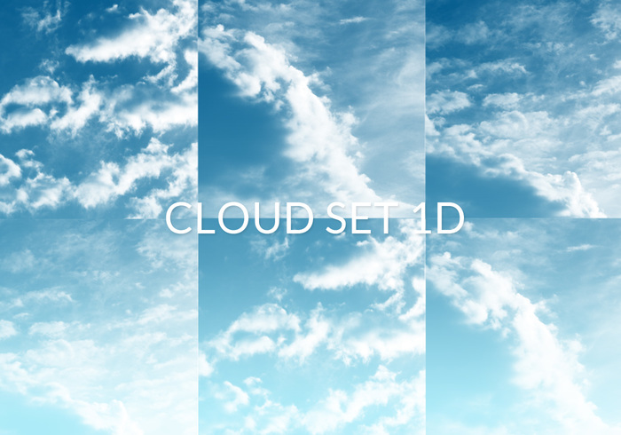 Cloud Set 1D Brushes
