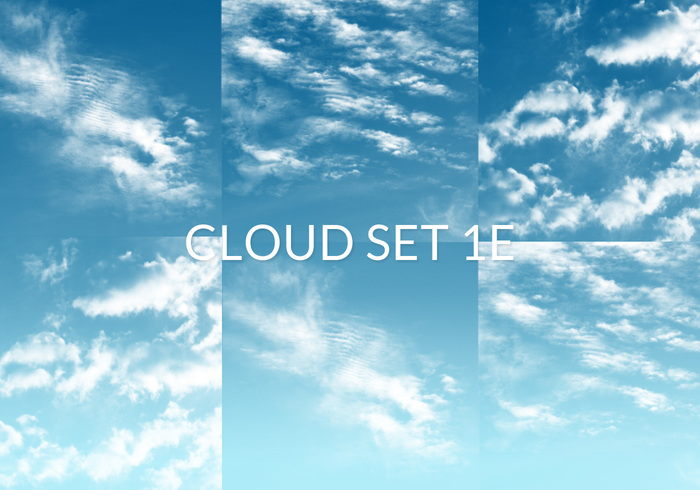 Cloud Set 1E Borstels