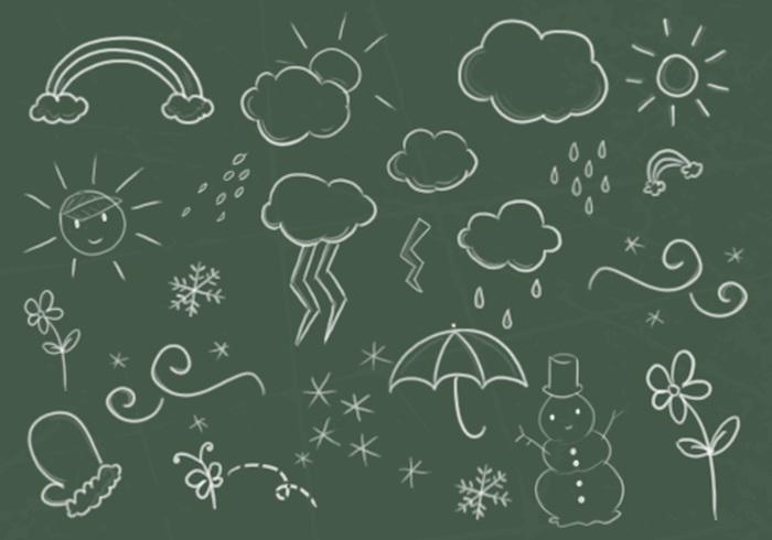 Säsong Doodles Borstar