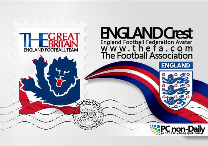 Engeland Crest + Postzegel